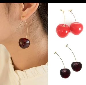 "🍒NEW ""MON CHE'RI""CHERRY EARRINGS"